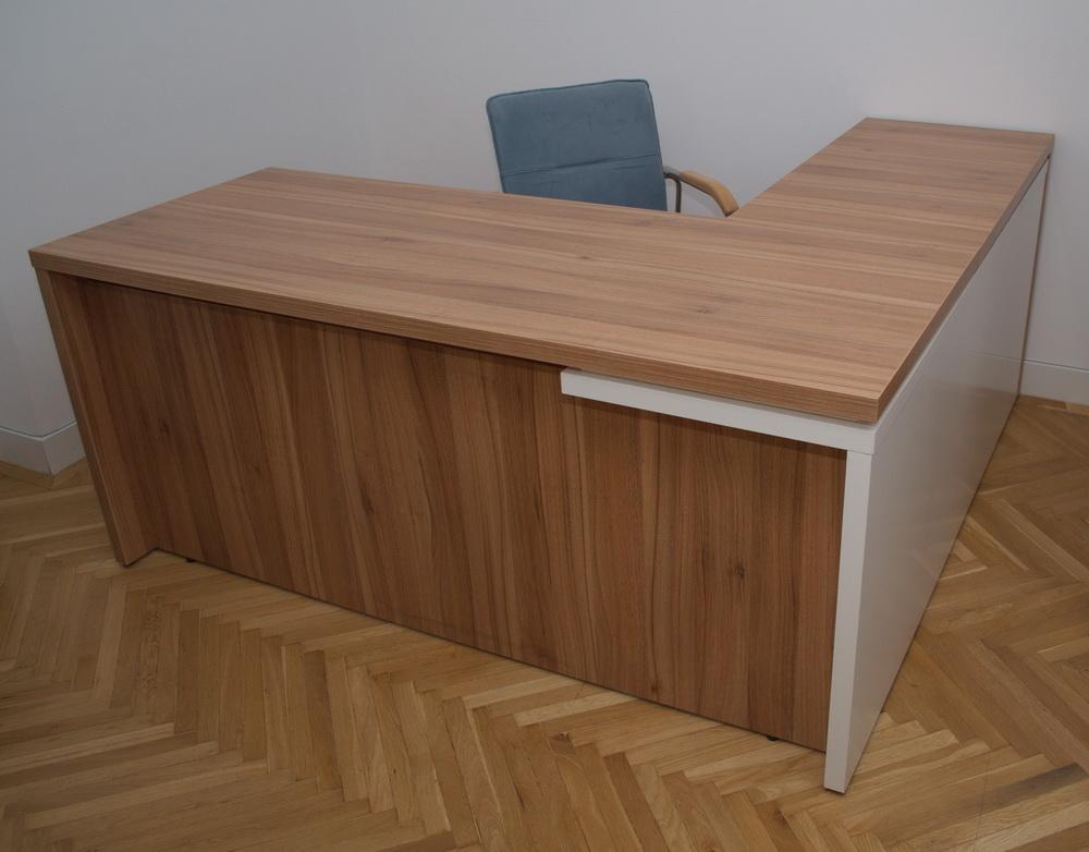 birou lyon lateral mobilier birou fabricat in romania. Black Bedroom Furniture Sets. Home Design Ideas