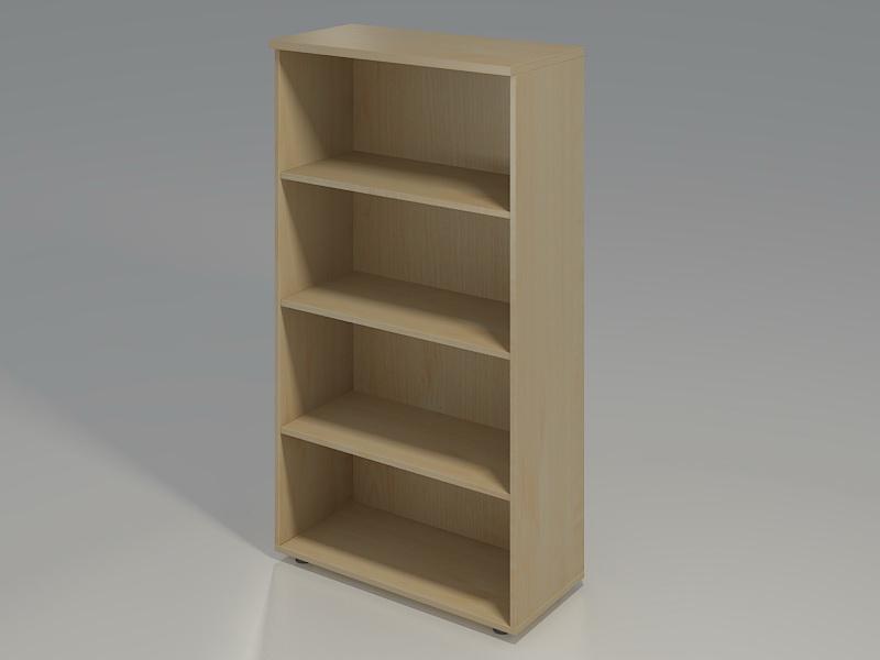 dulap biblioraft cu 4 spatii